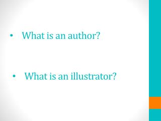 What is an author?