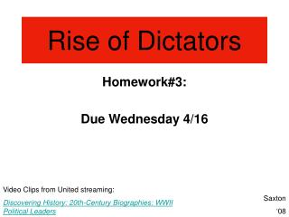 rise of dictatorship with reference to The rise of military rule in twentieth century latin america has, to a large extent, shaped the political life of the nations in the region and also produced literature on this form of authoritarianism known as bureaucratic authoritarianism.