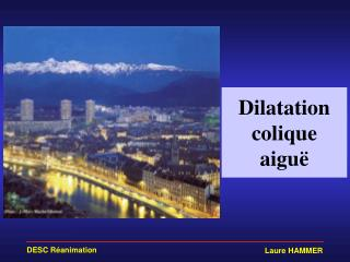 Dilatation colique aiguë