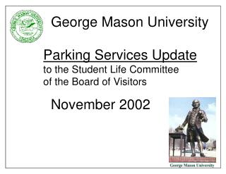 Board of Visitors Parking Task Force May 2000 Recommendations