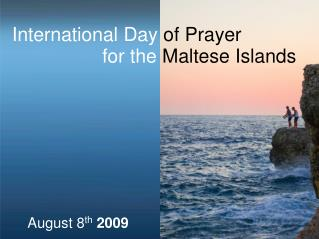 International Day  of Prayer  for the  Maltese Islands