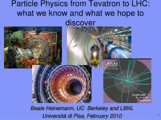 Particle Physics from Tevatron to LHC: what we know and what we hope to discover