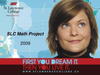 SLC Math Project