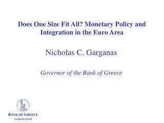 Does One Size Fit All? Monetary Policy and Integration in the Euro Area