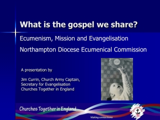 What is the gospel we share?