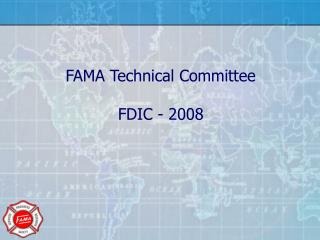 FAMA Technical Committee FDIC - 2008