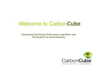 Welcome to Carbon Cube
