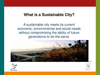 What is a Sustainable City?