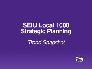 Strategic Planning for 2011-12