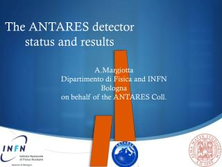 The ANTARES detector status and results