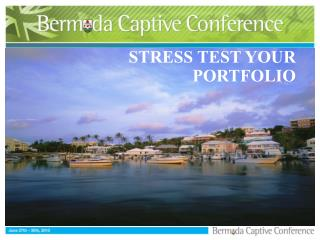 STRESS TEST YOUR PORTFOLIO
