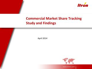 Commercial Market Share Tracking Study and Findings