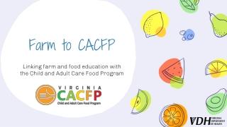 Special Nutrition Programs