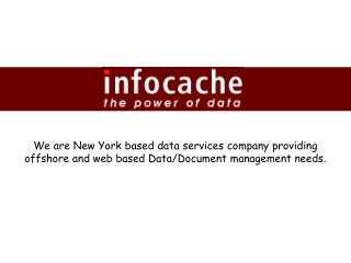 Infocache Corporation - Litigation Coding