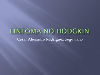 linfomas no hodgkin
