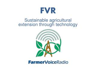 Sustainable agricultural extension through technology