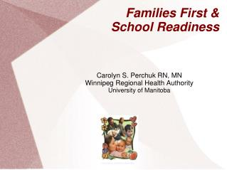 Families First & School Readiness
