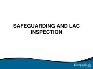 SAFEGUARDING AND LAC INSPECTION