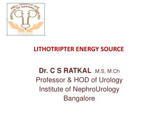 LITHOTRIPTER ENERGY SOURCE