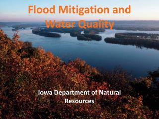 Flood Mitigation and Water Quality