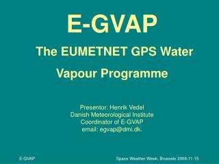 EUMETNET, the Network of European Meteorological Services,