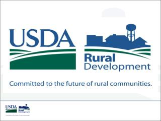 USDA Rural Development Energy Stakeholders Mtg.