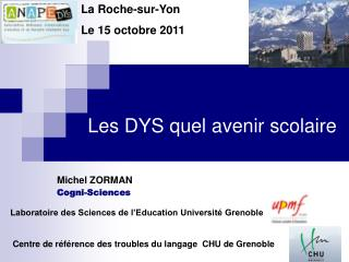 Laboratoire des Sciences de l'Education Université Grenoble