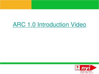 ARC 1.0 Introduction Video