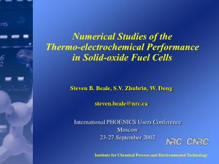 Numerical Studies of the  Thermo-electrochemical Performance  in Solid-oxide Fuel Cells