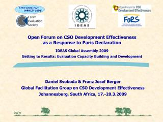 Open Forum on CSO Development Effectiveness as a Response to Paris Declaration