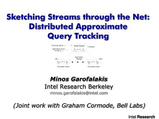 Sketching Streams through the Net: Distributed Approximate          Query Tracking