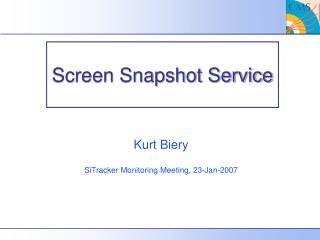 Screen Snapshot Service