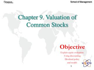 Chapter 9. Valuation of Common Stocks