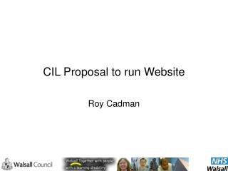 CIL Proposal to run Website