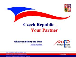 Czech Republic –  Your Partner