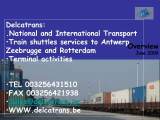 Delcatrans: .National and International Transport