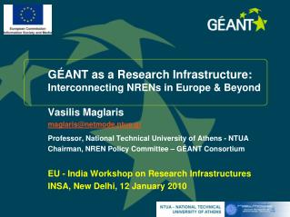 GÉANT as a Research Infrastructure: Interconnecting NRENs in Europe & Beyond