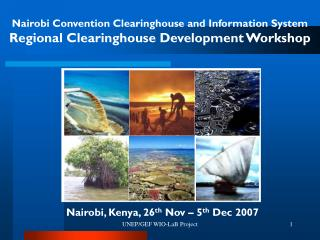Nairobi Convention Clearinghouse and Information System