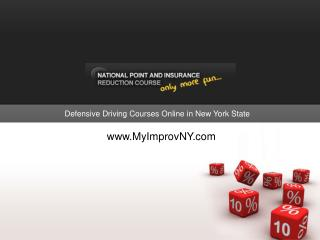 NY Defensive Driving Courses By Improv