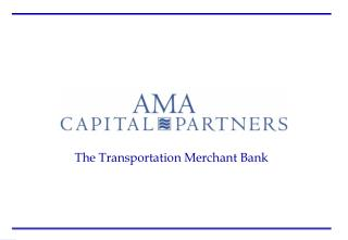 The Transportation Merchant Bank