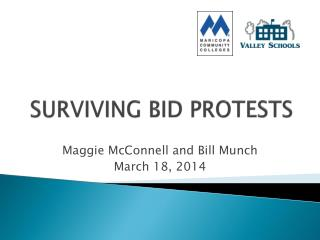 SURVIVING BID PROTESTS