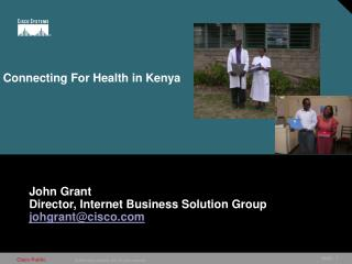 Connecting For Health in Kenya