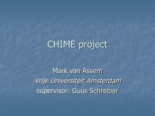 CHIME project