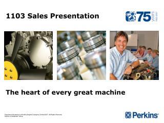 1103 Sales Presentation