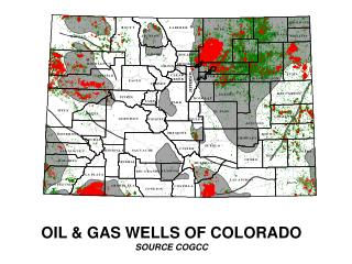 OIL & GAS WELLS OF COLORADO SOURCE COGCC