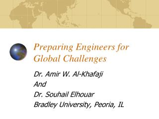 Preparing Engineers for Global Challenges