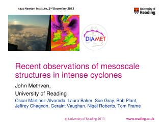 Recent observations of  mesoscale  structures in intense cyclones