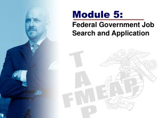 Module 5: Federal Government Job Search and Application