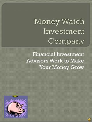 Money Watch Investment Company