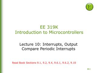 EE 319K Introduction to Microcontrollers